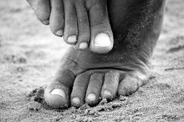 choroby paznokci u nóg