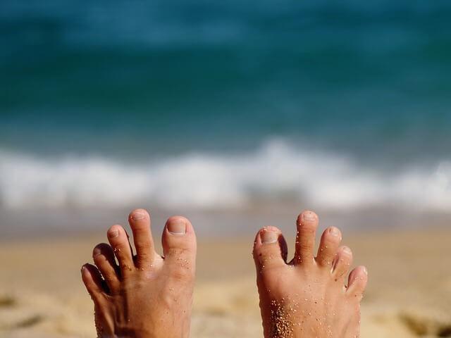 drętwienie palców u nóg