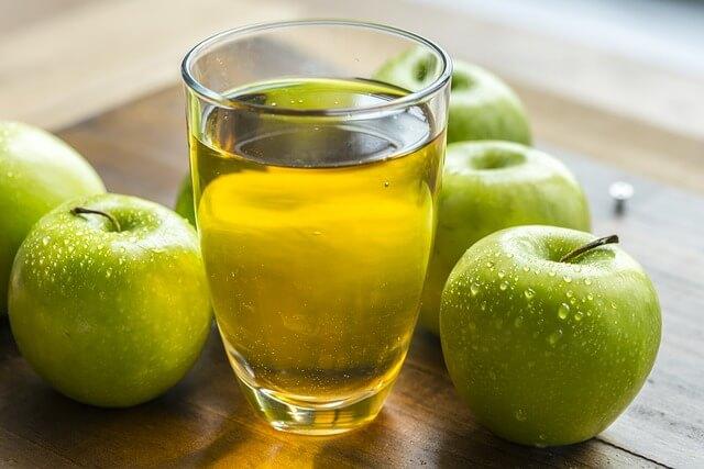 ocet jabłkowy na czczo